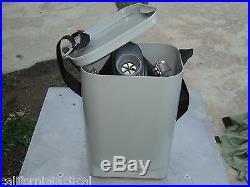 Scott/SEA Gas Mask 40mm NATO W Free Carry/Storage Case Free Shipping