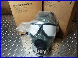 Sealed M40 Military-Spec Gas Mask with 40mm NATO CBRN Approved Filter ALL NIB