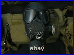 Soviet Russia USSR PMK Military Gas Mask Respirator Complete Kit Black Size 2