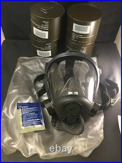 Sperian 7690 Opti-fit Adjustable Gas Mask With Filters