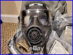 ULTIMATE FULL KIT AVON FM53 M53 Gas Mask Respirator Medium Right Handed NBC M50