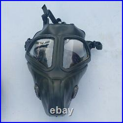 US Military Issue MSA Gas Mask Respirator Size M with Bag