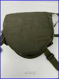 US Military MCU/2 Gas Mask Respirator Size Small with Bag 1974