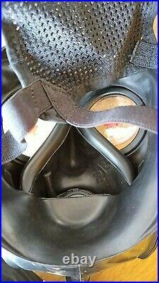 Unused Dutch FM12 Gas Mask Respirator Size 2