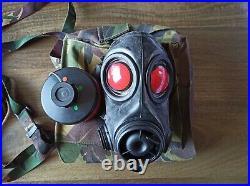 Unused Dutch FM-12 Gas Mask Respirator Size 2 Kit