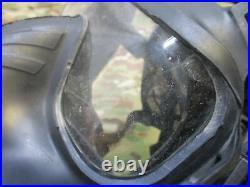 Used Avon Full Face Respirator M50 Gas Mask CBRN NBC Protection MEDIUM