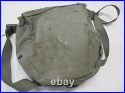 Used Avon M50 Gas Mask Full Face Respirator + Pouch NBC Protection size MEDIUM