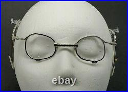 Vintage United States Military M-17 Respirator Glasses Spectacles gas mask