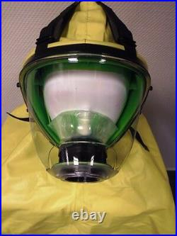 Vollmaske Gasmaske mit Schutzhaube Chemieschutz ABC-Schutz Infektionsschutz