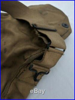 WWI WW1 US Gas Mask Army Doughboy ID, Respirator Original Military CLEAN