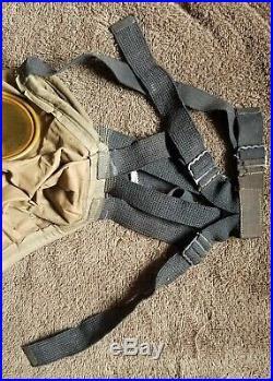 Ww1 U. S. C. E. M. Respirator Doughboy Gas Mask
